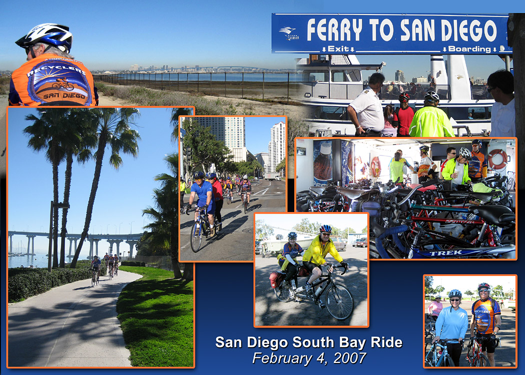 South Bay Ride Collage